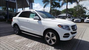 2017 Mercedes-Benz GLE for sale in Naples, FL