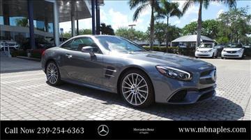 2017 Mercedes-Benz SL-Class for sale in Naples, FL