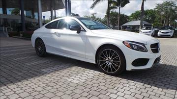 2017 Mercedes-Benz C-Class for sale in Naples, FL
