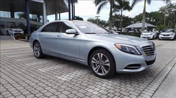 MercedesBenz SClass For Sale  Carsforsalecom