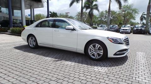2018 Mercedes-Benz S-Class for sale in Naples, FL