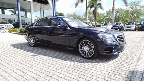 2015 Mercedes-Benz S-Class for sale in Naples, FL