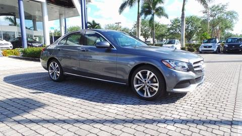 2018 Mercedes-Benz C-Class for sale in Naples, FL