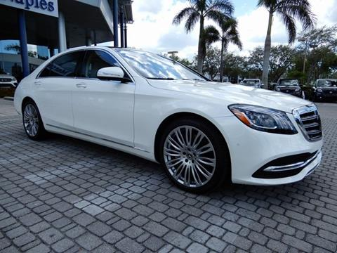 Mercedes benz s class for sale in naples fl for Mercedes benz of naples fl