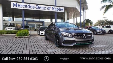 2017 Mercedes-Benz CLA for sale in Naples, FL