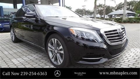 2017 Mercedes-Benz S-Class for sale in Naples, FL
