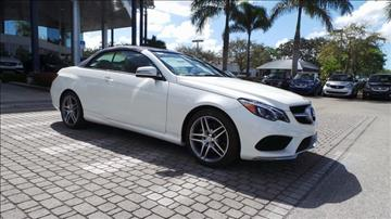 2017 Mercedes-Benz E-Class for sale in Naples, FL