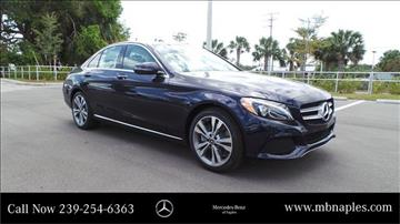 2017 Mercedes-Benz C-Class for sale in Naples, FL
