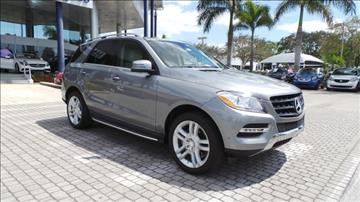 2015 Mercedes-Benz M-Class for sale in Naples, FL