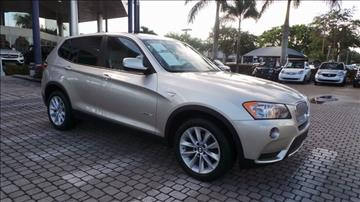2014 BMW X3 for sale in Naples, FL