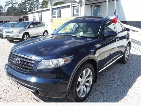 2004 Infiniti FX35 for sale in Humble, TX