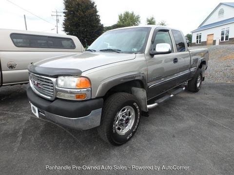 2002 GMC Sierra 2500HD for sale in Martinsburg, WV