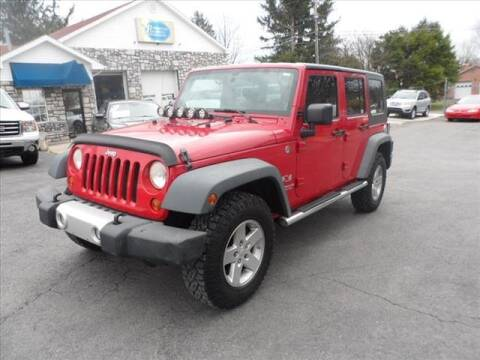 2008 Jeep Wrangler Unlimited X for sale at Panhandle Pre-Owned Auto Sales in Martinsburg WV