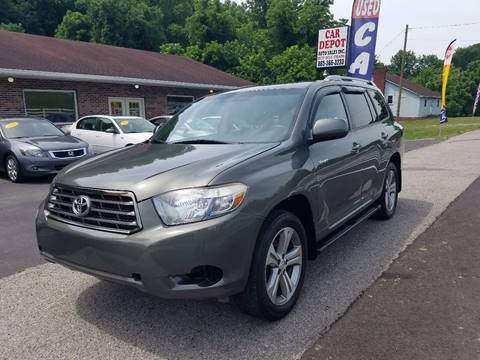 2008 Toyota Highlander for sale at Car Depot Auto Sales Inc in Seymour TN
