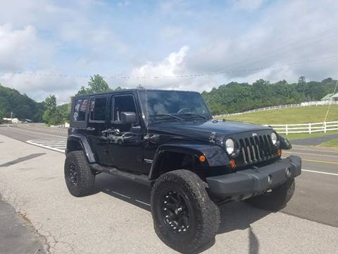 2008 Jeep Wrangler Unlimited for sale at Car Depot Auto Sales Inc in Seymour TN