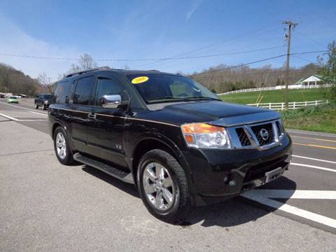 2008 Nissan Armada for sale at Car Depot Auto Sales Inc in Seymour TN