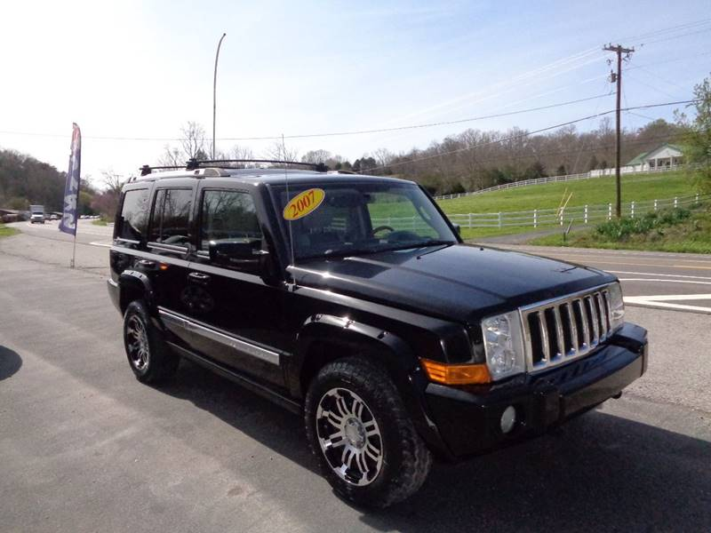 2007 Jeep Commander for sale at Car Depot Auto Sales Inc in Seymour TN