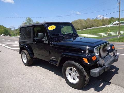 2006 Jeep Wrangler for sale at Car Depot Auto Sales Inc in Seymour TN
