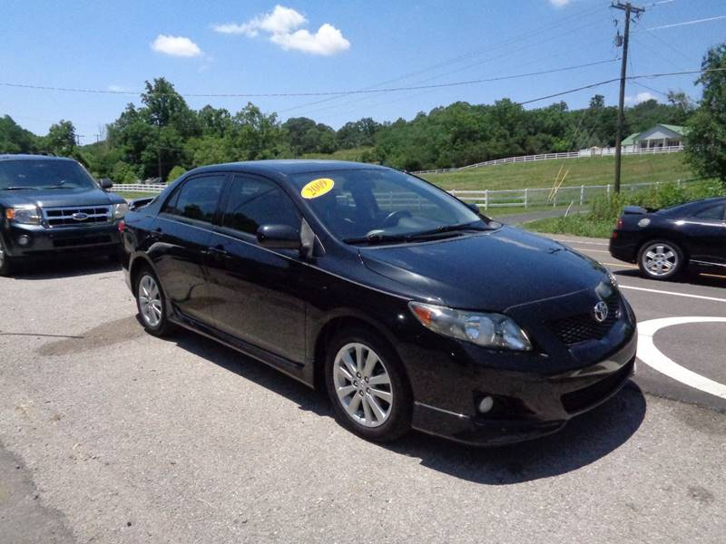 2009 Toyota Corolla For Sale At Car Depot Auto Sales Inc In Seymour TN