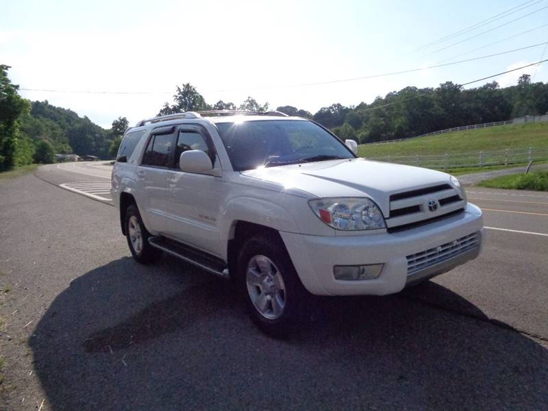 2003 Toyota 4Runner For Sale At Car Depot Auto Sales Inc In Seymour TN