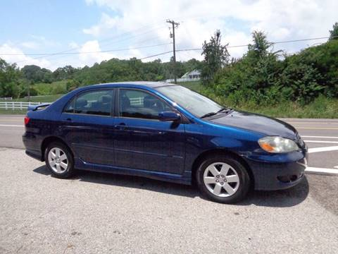 2008 Toyota Corolla for sale at Car Depot Auto Sales Inc in Seymour TN