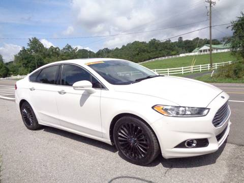 2013 Ford Fusion for sale at Car Depot Auto Sales Inc in Seymour TN