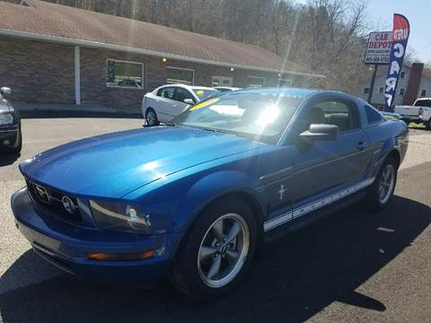 2006 Ford Mustang for sale at Car Depot Auto Sales Inc in Seymour TN