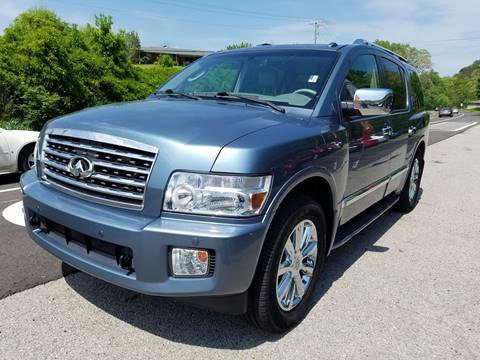 2008 Infiniti QX56 for sale at Car Depot Auto Sales Inc in Seymour TN