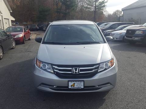 2015 Honda Odyssey for sale at Ceylon Auto Traders in Easton MD