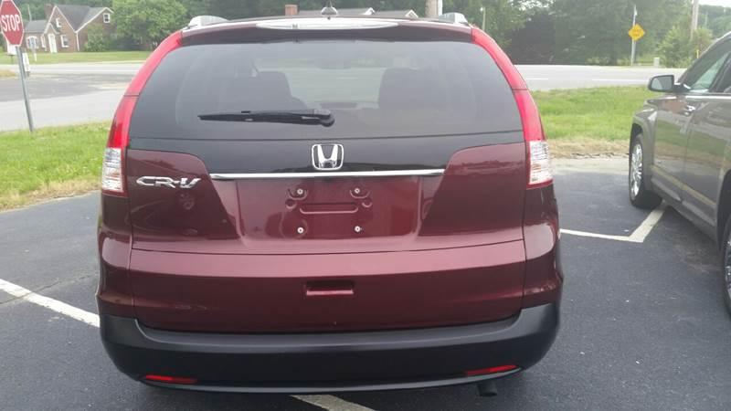 2012 Honda CR-V for sale at R & D Auto Sales Inc. in Lexington NC