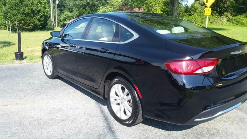 2015 Chrysler 200 for sale at R & D Auto Sales Inc. in Lexington NC
