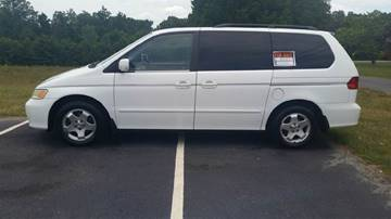 2001 Honda Odyssey for sale at R & D Auto Sales Inc. in Lexington NC