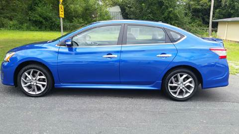 2015 Nissan Sentra for sale at R & D Auto Sales Inc. in Lexington NC