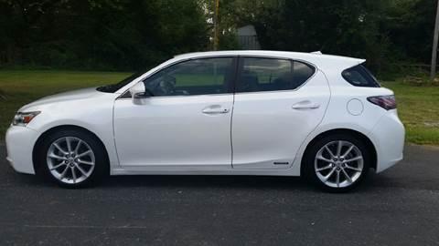 2011 Lexus CT 200h for sale at R & D Auto Sales Inc. in Lexington NC