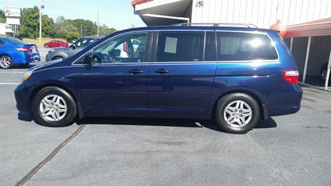 2007 Honda Odyssey for sale at R & D Auto Sales Inc. in Lexington NC