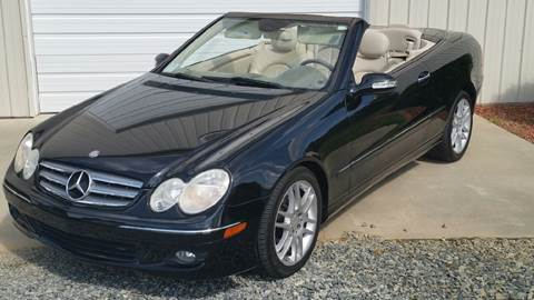 2008 Mercedes-Benz CLK for sale at R & D Auto Sales Inc. in Lexington NC
