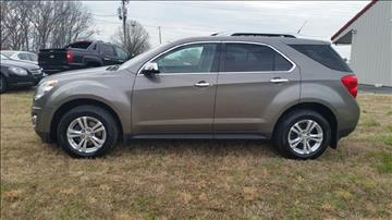 2011 Chevrolet Equinox for sale at R & D Auto Sales Inc. in Lexington NC