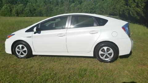2012 Toyota Prius for sale at R & D Auto Sales Inc. in Lexington NC