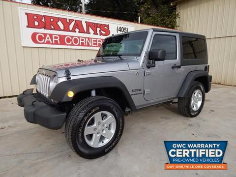 2013 Jeep Wrangler for sale in Midwest City, OK