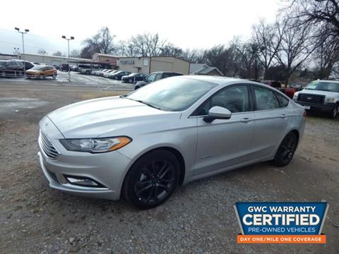 2018 Ford Fusion Hybrid for sale in Chickasha, OK