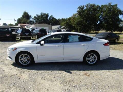 2018 Ford Fusion Hybrid for sale at Bryans Car Corner in Chickasha OK