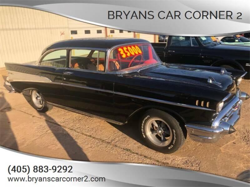 1957 Chevrolet Bel Air for sale at Bryans Car Corner in Chickasha OK