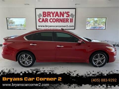 2013 Nissan Altima for sale at Bryans Car Corner in Chickasha OK