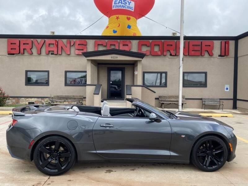 2018 Chevrolet Camaro for sale at Bryans Car Corner in Chickasha OK