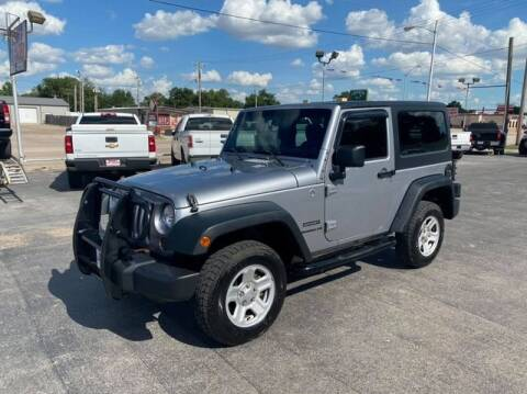 2013 Jeep Wrangler for sale at Bryans Car Corner in Chickasha OK