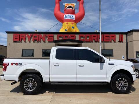 2018 Ford F-150 for sale at Bryans Car Corner in Chickasha OK