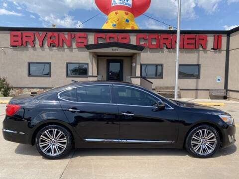 2015 Kia Cadenza for sale at Bryans Car Corner in Chickasha OK