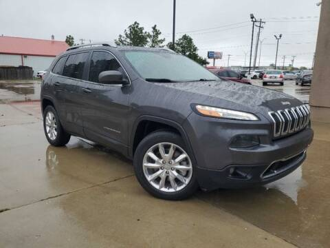 2016 Jeep Cherokee for sale at Bryans Car Corner in Chickasha OK