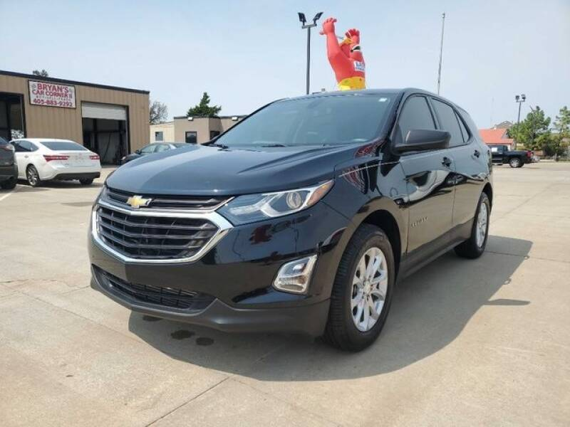 2018 Chevrolet Equinox for sale at Bryans Car Corner in Chickasha OK