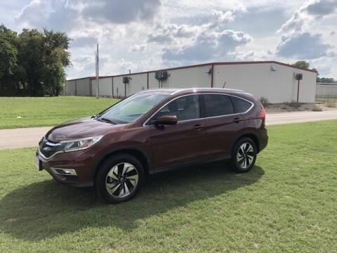 2016 Honda CR-V for sale at Bryans Car Corner in Chickasha OK
